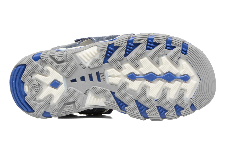Sandales et nu-pieds Bopy Ebriac Bleu vue haut