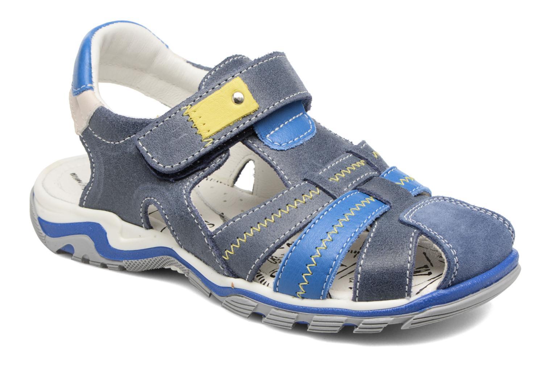 Sandales et nu-pieds Bopy Ebriac Bleu vue détail/paire