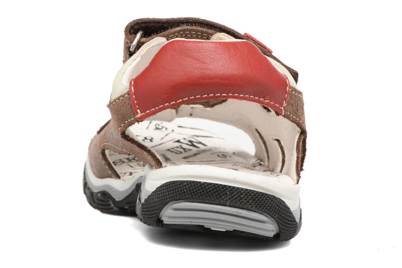 Sandales et nu-pieds Bopy Eblake Marron vue droite