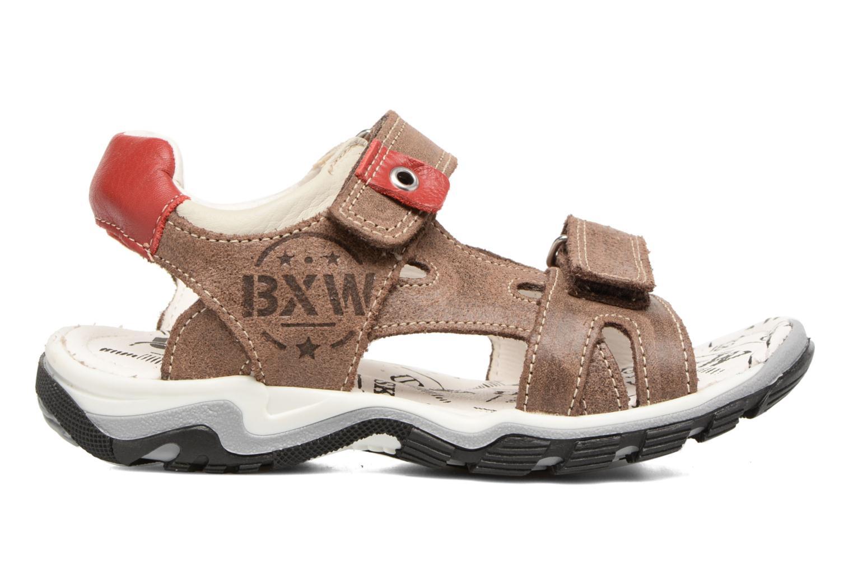 Sandales et nu-pieds Bopy Eblake Marron vue derrière