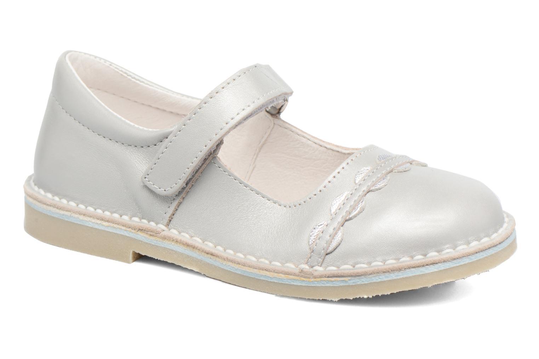 Ballerinaer Bopy Molina Grå detaljeret billede af skoene