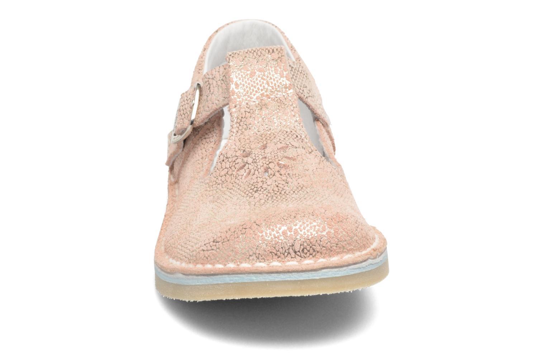 Ballerines Bopy Mapila Rose vue portées chaussures