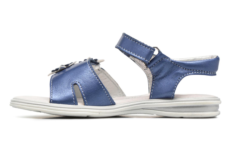 Sandalias Bopy Elisco Azul vista de frente