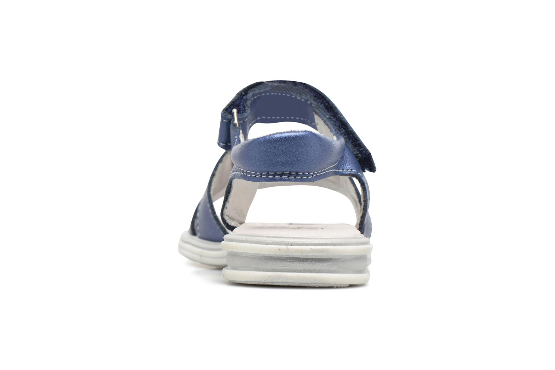 Sandali e scarpe aperte Bopy Elisco Azzurro immagine destra