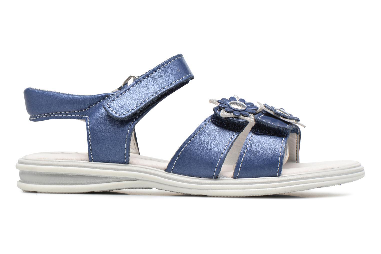 Sandalias Bopy Elisco Azul vistra trasera