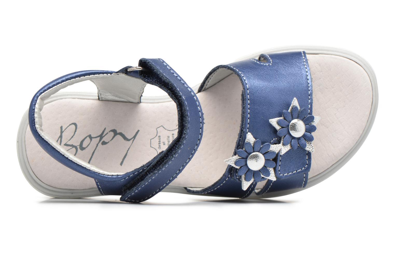 Sandali e scarpe aperte Bopy Elisco Azzurro immagine sinistra