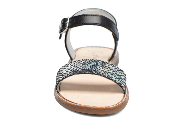 Sandales et nu-pieds Bopy Epouf Noir vue portées chaussures