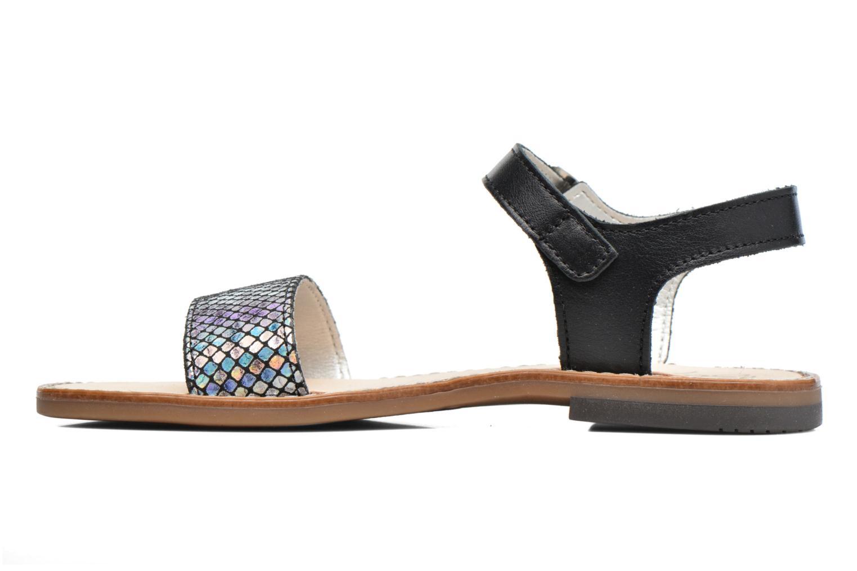 Sandales et nu-pieds Bopy Epouf Noir vue face