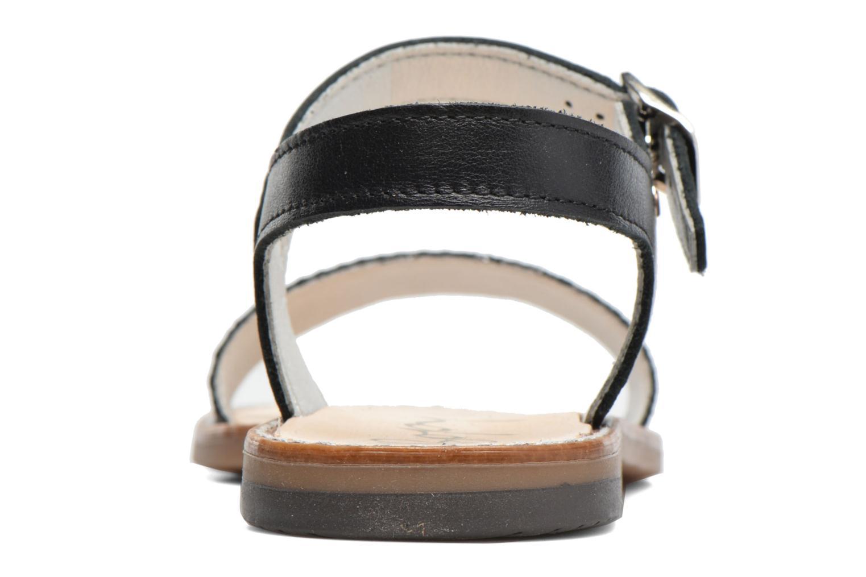 Sandales et nu-pieds Bopy Epouf Noir vue droite