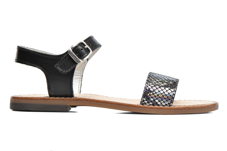 Sandales et nu-pieds Bopy Epouf Noir vue derrière