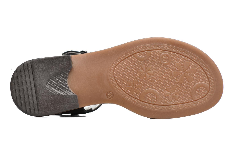 Sandales et nu-pieds Bopy Epouf Noir vue haut