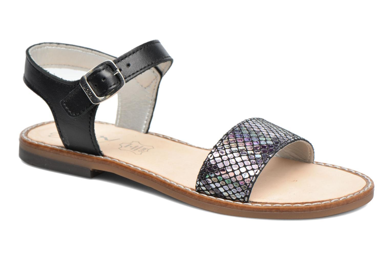 Sandales et nu-pieds Bopy Epouf Noir vue détail/paire