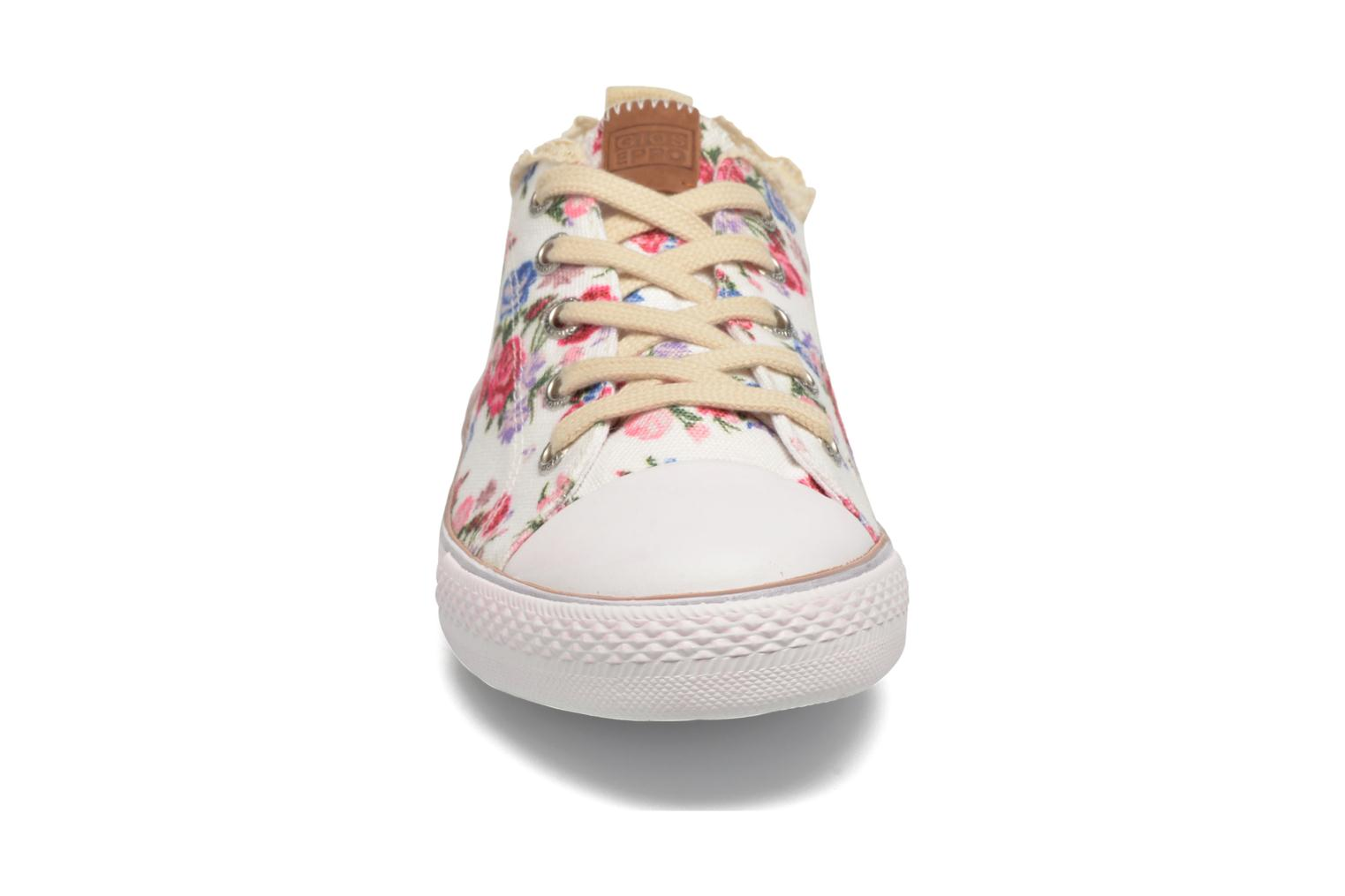Baskets Gioseppo Bandelaire Blanc vue portées chaussures