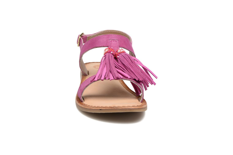Sandales et nu-pieds Gioseppo Guarani Violet vue portées chaussures