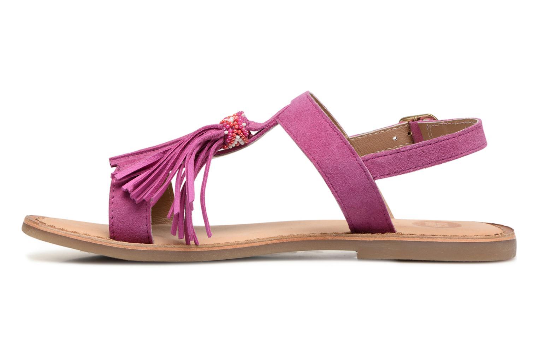 Sandales et nu-pieds Gioseppo Guarani Violet vue face