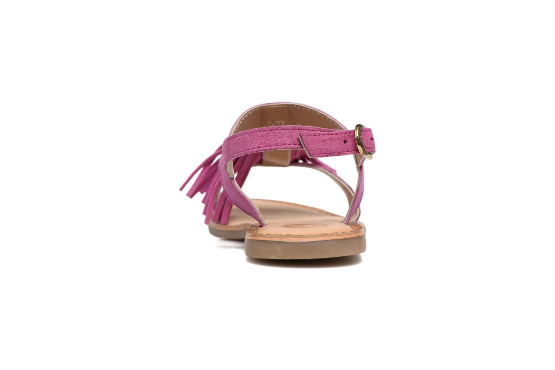 Sandales et nu-pieds Gioseppo Guarani Violet vue droite