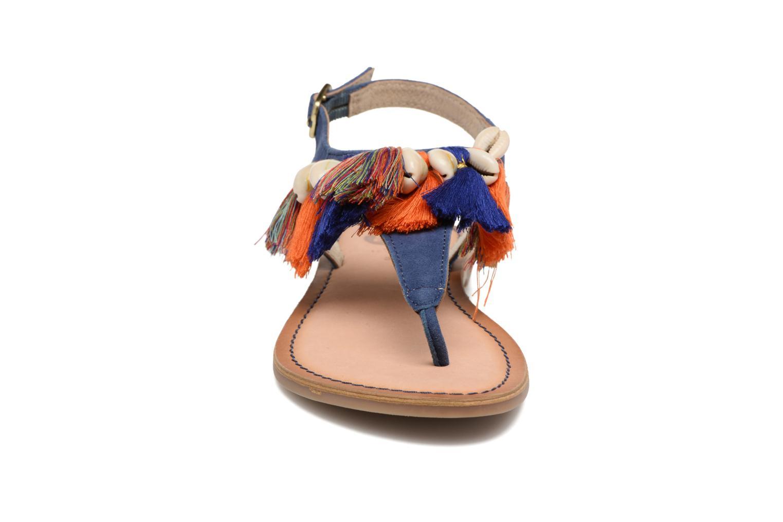 Sandales et nu-pieds Gioseppo Indigena Bleu vue portées chaussures