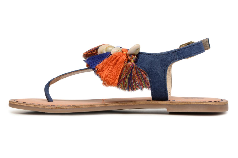 Sandales et nu-pieds Gioseppo Indigena Bleu vue face
