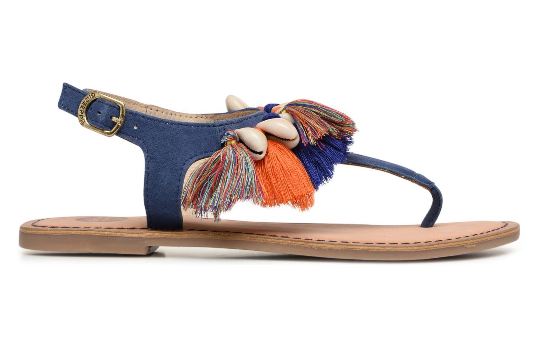 Sandales et nu-pieds Gioseppo Indigena Bleu vue derrière