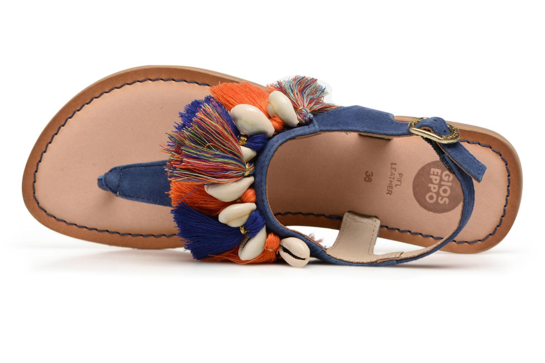 Sandales et nu-pieds Gioseppo Indigena Bleu vue gauche