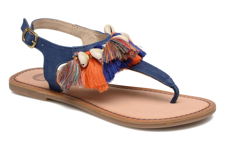 Sandales et nu-pieds Gioseppo Indigena Bleu vue détail/paire