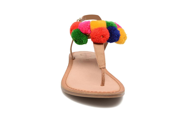 Sandales et nu-pieds Gioseppo Hatae Multicolore vue portées chaussures