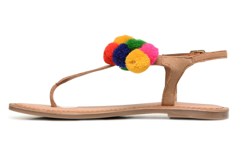 Sandales et nu-pieds Gioseppo Hatae Multicolore vue face