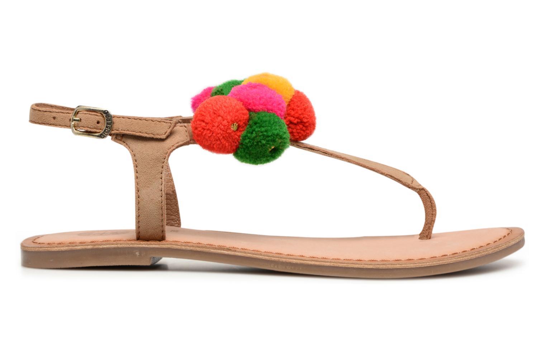 Sandales et nu-pieds Gioseppo Hatae Multicolore vue derrière