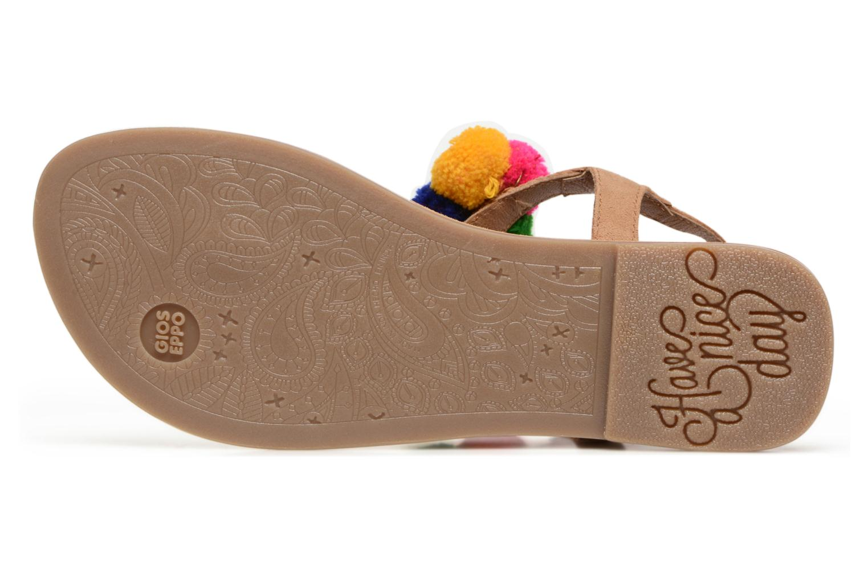 Sandales et nu-pieds Gioseppo Hatae Multicolore vue haut