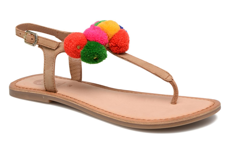 Sandales et nu-pieds Gioseppo Hatae Multicolore vue détail/paire