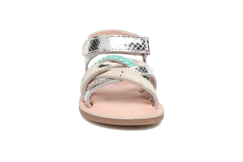 Sandales et nu-pieds Gioseppo Molly Or et bronze vue portées chaussures