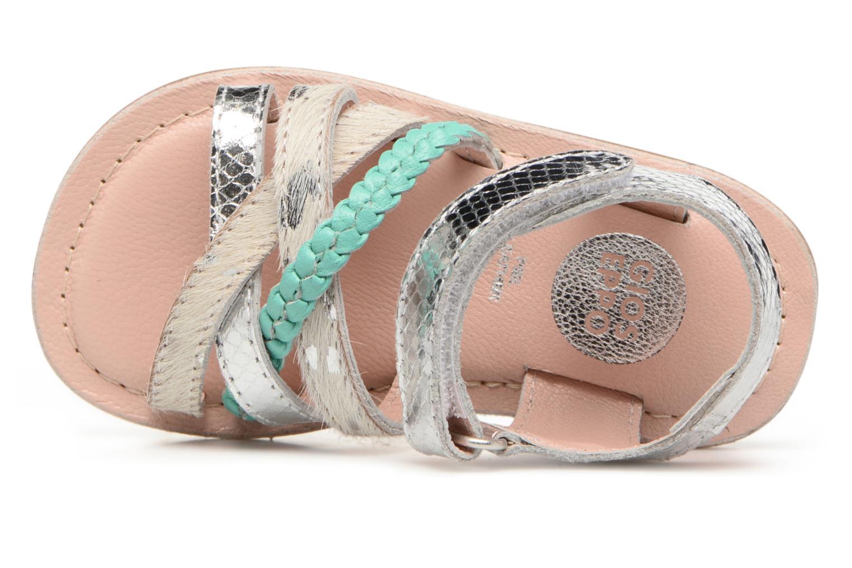 Sandales et nu-pieds Gioseppo Molly Or et bronze vue gauche
