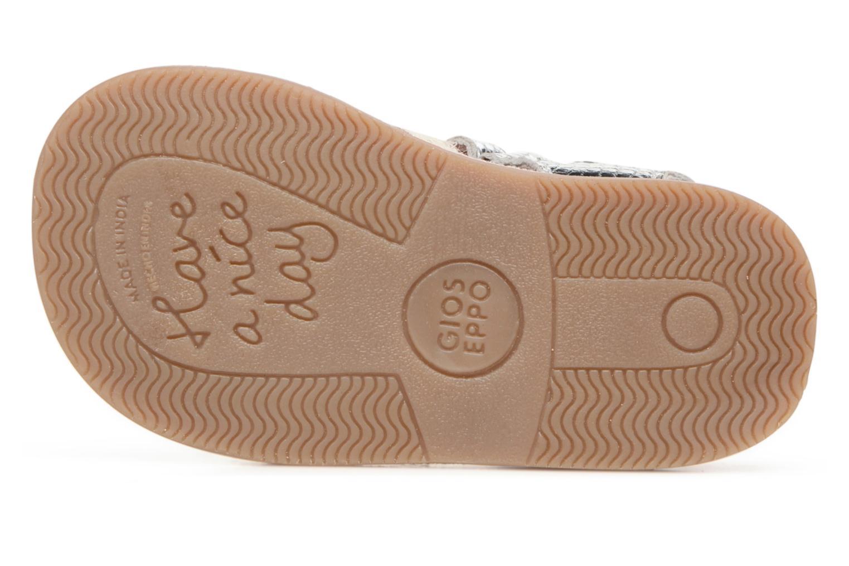 Sandales et nu-pieds Gioseppo Molly Or et bronze vue haut