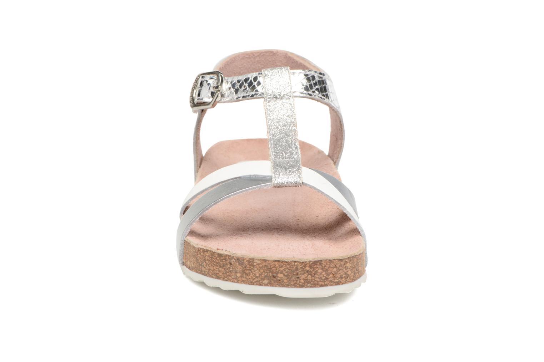 Sandales et nu-pieds Gioseppo Centella Argent vue portées chaussures