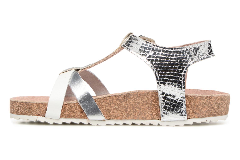 Sandales et nu-pieds Gioseppo Centella Argent vue face