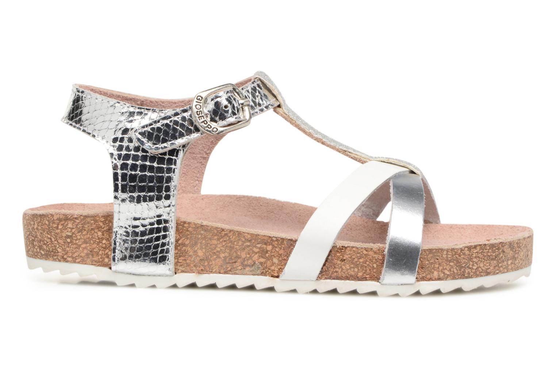 Sandales et nu-pieds Gioseppo Centella Argent vue derrière