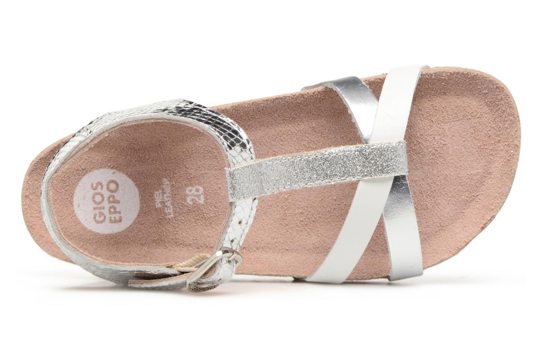 Sandales et nu-pieds Gioseppo Centella Argent vue gauche