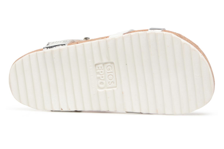 Sandales et nu-pieds Gioseppo Centella Argent vue haut