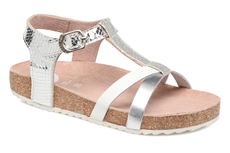 Sandales et nu-pieds Gioseppo Centella Argent vue détail/paire