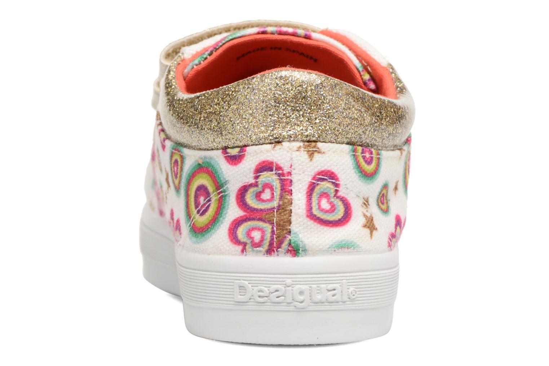 Sneaker Desigual Silver Mini 2 weiß ansicht von rechts