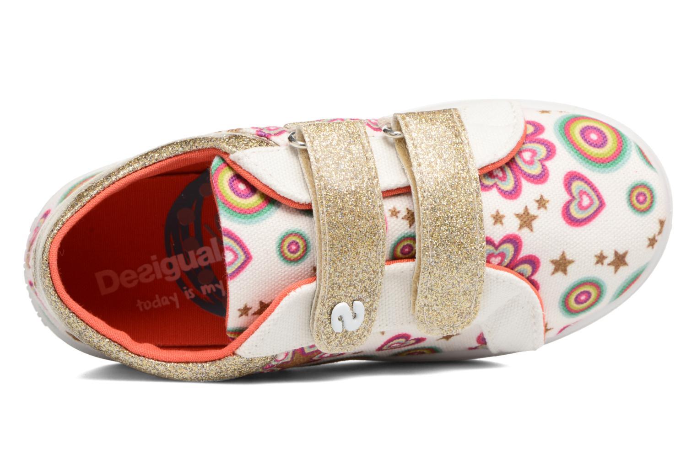 Sneaker Desigual Silver Mini 2 weiß ansicht von links
