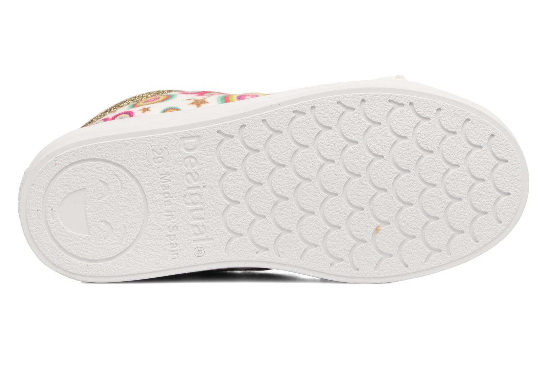 Sneaker Desigual Silver Mini 2 weiß ansicht von oben