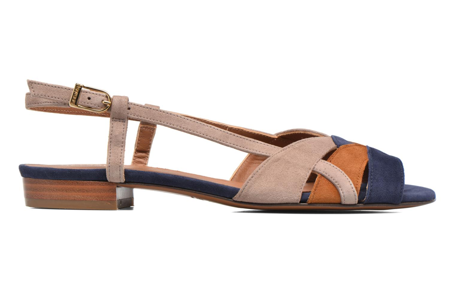 Sandals Heyraud EDNA Multicolor back view