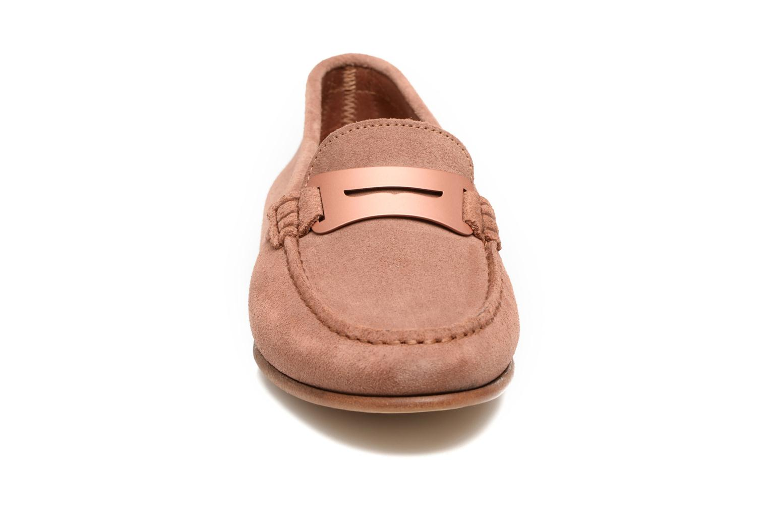 Loafers Heyraud EDWIGE Pink model view