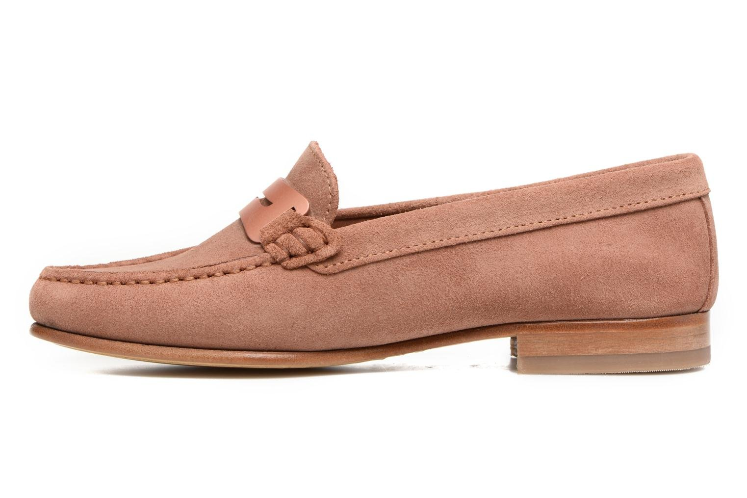 Loafers Heyraud EDWIGE Pink front view