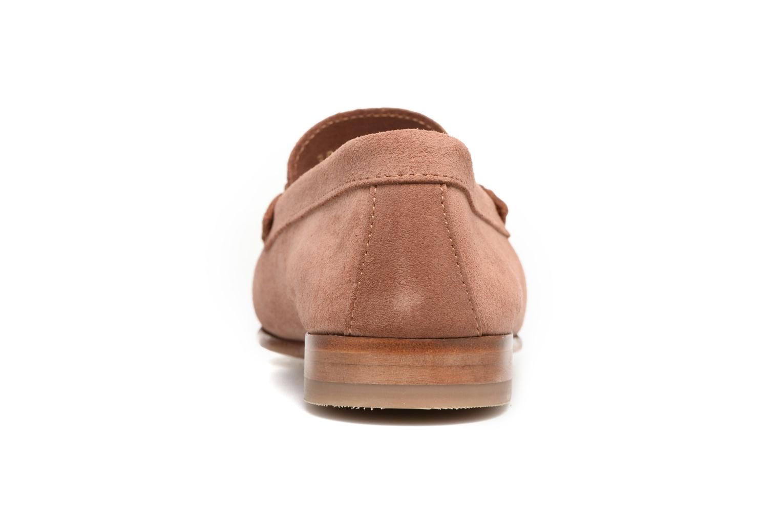 Loafers Heyraud EDWIGE Pink view from the right