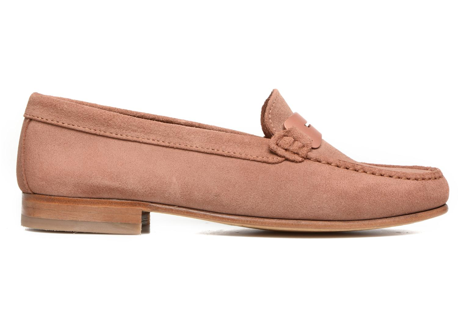 Loafers Heyraud EDWIGE Pink back view