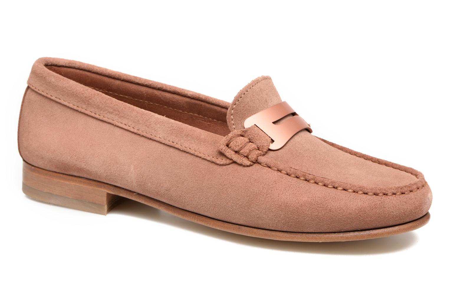 Loafers Heyraud EDWIGE Pink detailed view/ Pair view