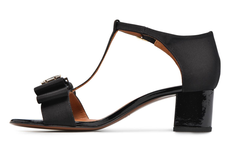 Sandales et nu-pieds Heyraud ENAEL Noir vue face