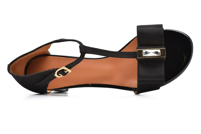 Sandales et nu-pieds Heyraud ENAEL Noir vue gauche